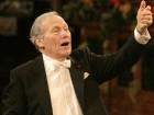 Le concert du Nouvel An à Vienne dirigé par Georges Prêtre