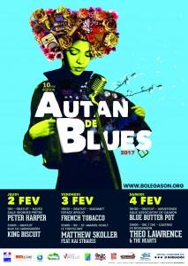 Jeudi 2 février 2017 à 18h – Festival Autan de Blues