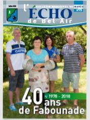 Bulletin Municipal N°73 – juillet 2018