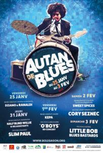 Vendredi 1er février 2019 à 18h30 : Festival Autan de Blues