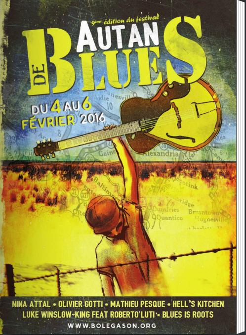 Jeudi 4 février 2016 – 18h30 – Autan de Blues