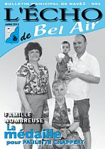 Bulletin Municipal N°63 - Juillet 2013 (7,5 Mo)